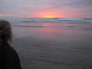 Solstice.sunset