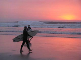 Solstice surfers
