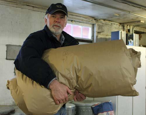 Wrapped fleece