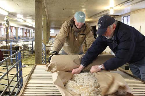 Rolling fleece