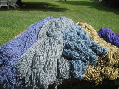 Upland wool alpaca colors 2