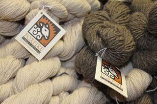 Foxfire fiber. cormo alpaca lace. upland wool alpaca natural