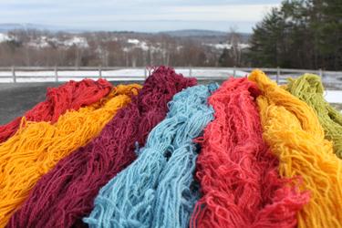 Cormo alpaca lace colors foxfire fiber